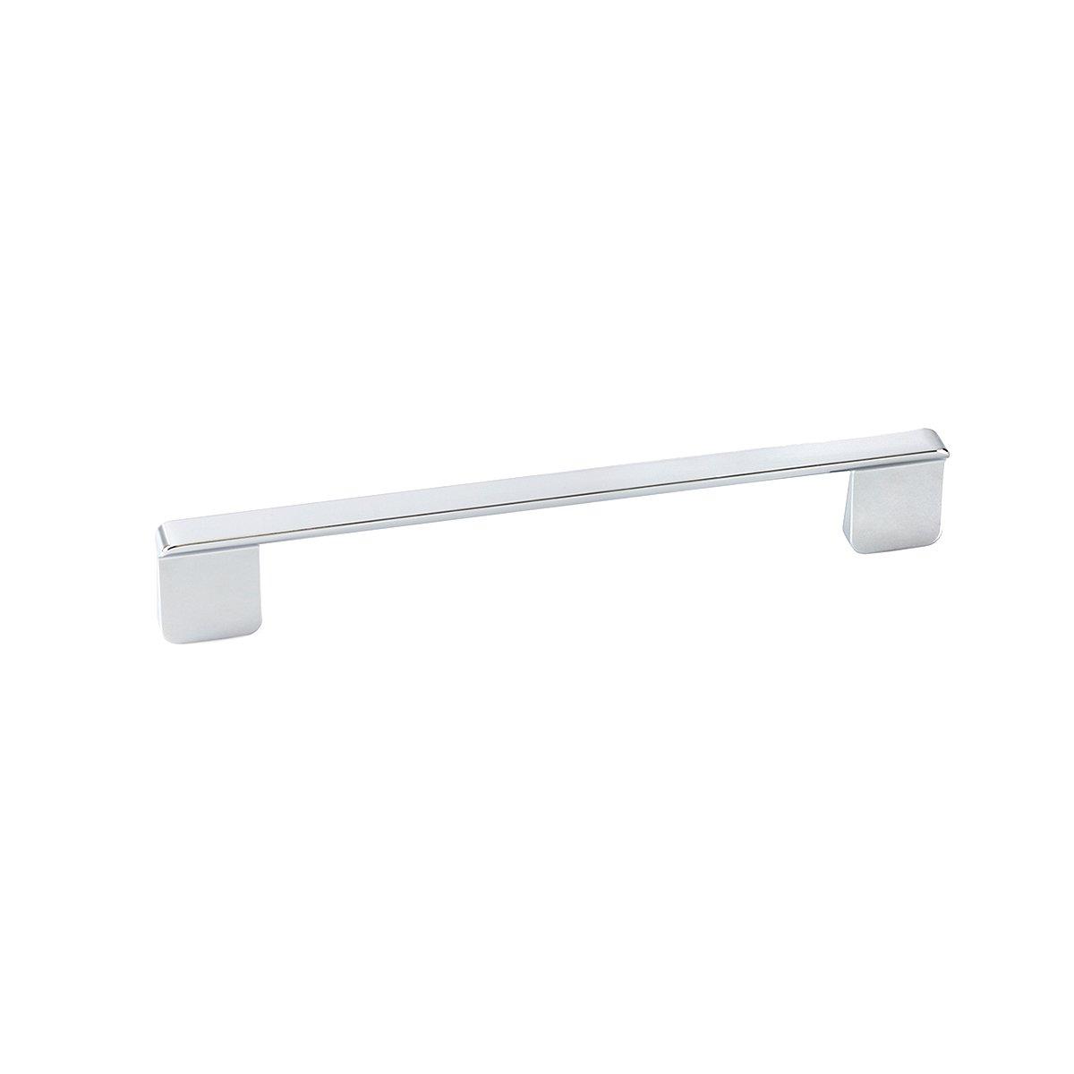 Slim Chrome rectangular pull