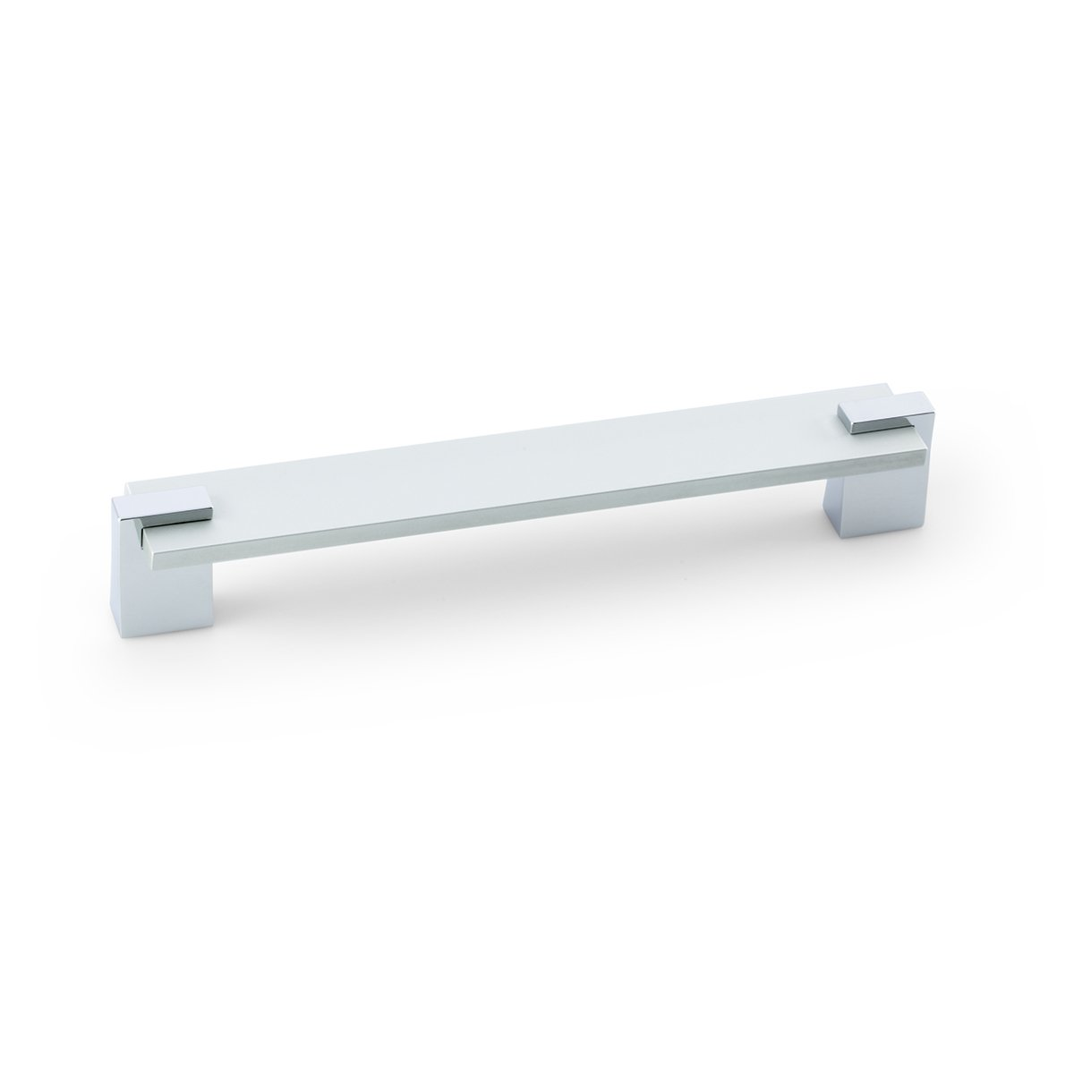 Chrome Rectangular Bar Pull