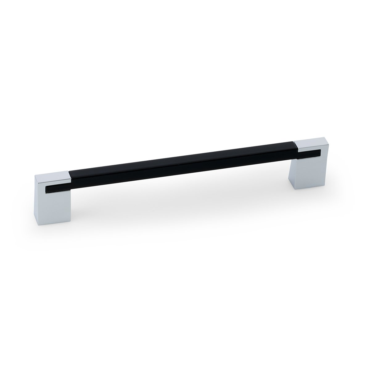Black Chrome Rectangular Pull
