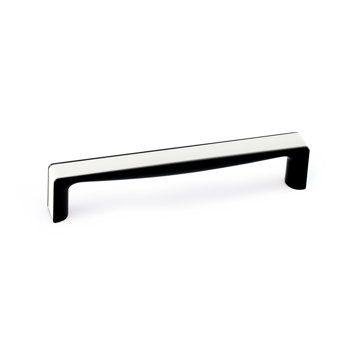 Unique White Black Rectangular Pull