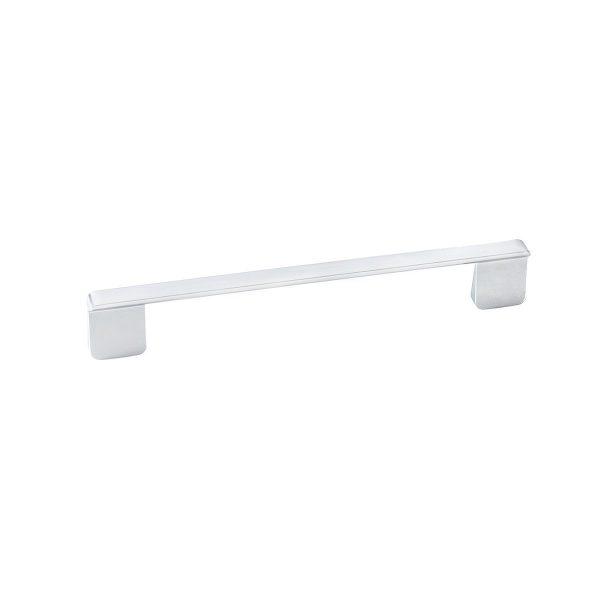Slim Mat Chrome Rectangular Pull